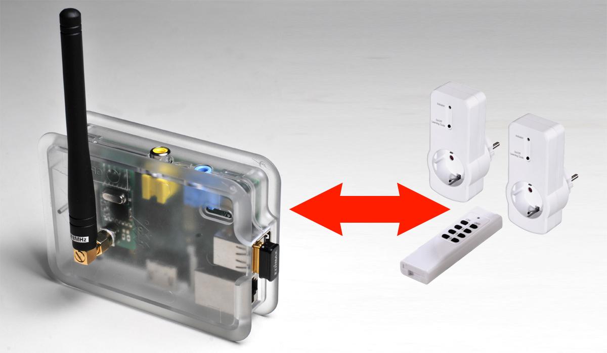 Funksteckdosen mit dem Raspberry PI steuern
