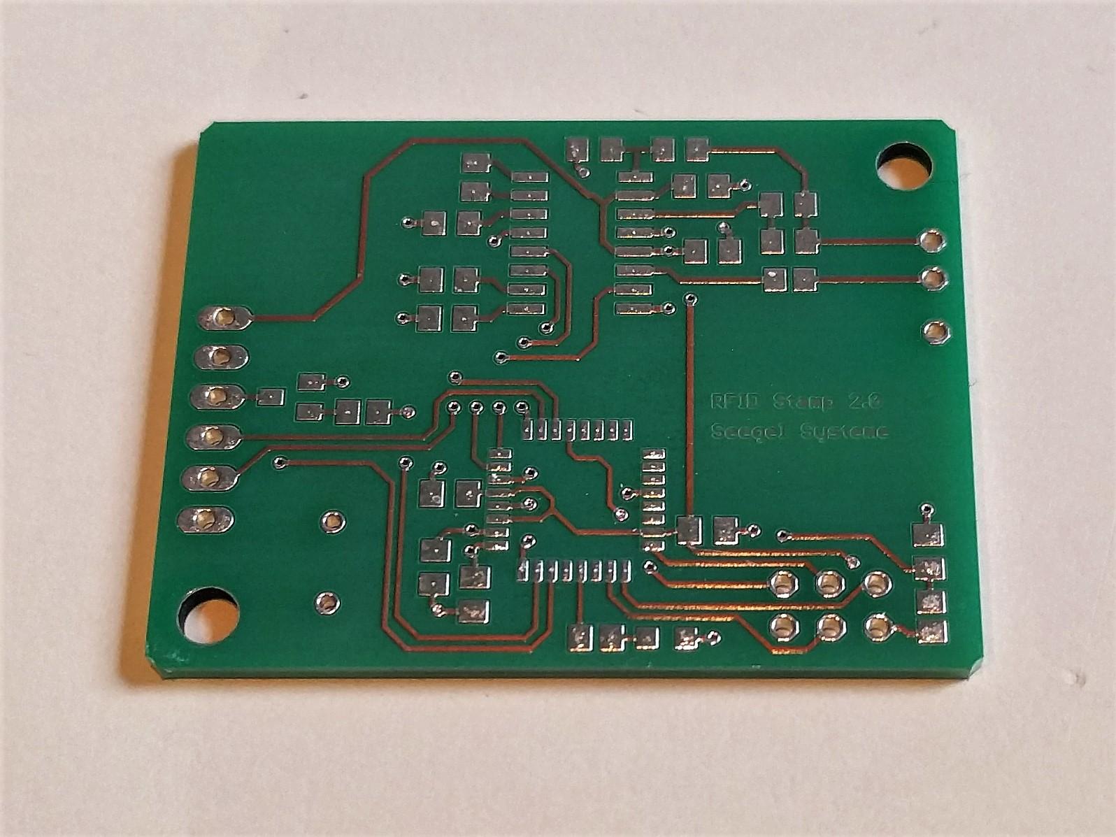 Leiterplatte RFID Stamp